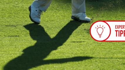 Golf Post Trainingsesxpertin Stefanie Eckrodt erklärt, wie man seinen Schatten als effektives Kontrollinstrument des Schwungs benutzten kann. (Foto: Getty)