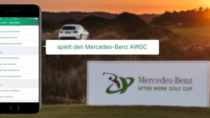 Mercedes-Benz After Work Golf Cup 2018 Golf Post App