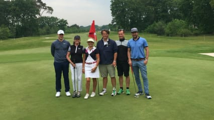 Der Golf Post Flight beim ProAm des Belgian Knockout. (Foto: Golf Post)