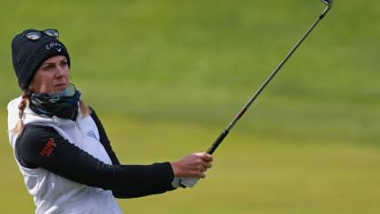 Sandra Gal trotzt dem Wetter bei der Volunteers of America LPGA Texas Classic. (Foto: Getty)