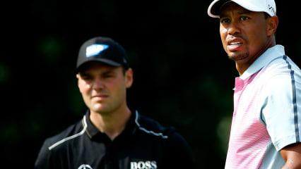 Martin Kaymer und Tiger Woods starten bei der Wells Fargo Championship 2018 der PGA Tour. Die Tee Times. (Foto: Getty)