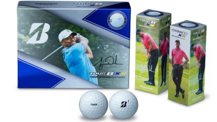 Der Bridgestone Tour B XS ist der Ball des Vertrauens Tiger Woods'. Jetzt belohnt Bridgestone seine Treue mit einer Sonderedition des Balles. (Foto: Bridgestone)