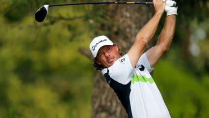 Alex Cejka kann sich auf der PGA Tour in Texas in den Top 10 halten und startet so mit einer guten Ausgangsposition ins Wochenende. (Foto: Getty)
