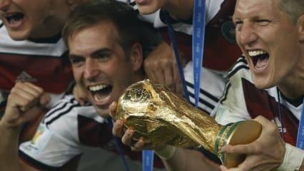 Diesen Pokal gilt es für die golfenden Fußballer der deutschen Nationalmannschaft bei der WM 2018 in Russland zu verteidigen. (Foto: Getty)