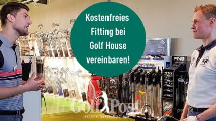 Noch zwei Wochen haben Sie die Möglichkeit ein kostenfreies Fitting bei Golf House zu vereinbaren. (Foto: Golf House)