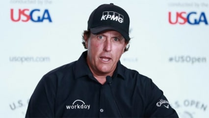 US Open Golf 2018 Phil Mickelson (Foto: Twitter.com/usopengolf)