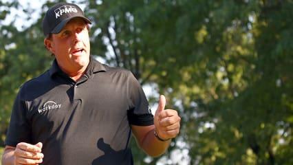 Phil Mickelson lobt eine gute Woche vor der US Open den Austragungsort. (Foto: Getty)