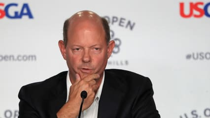 Mike Davis, Chef des amerikanischen Golf Verbandes USGA. (Foto: Getty)