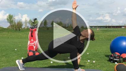 Mit diesen Golf-Fitness Übungen verbessern Sie die Beweglichkeit Ihrer Brustwirbelsäule. (Foto: Golf Post)