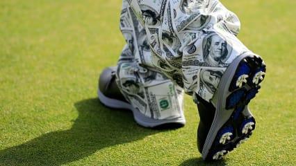 John Daly Modesünden Millionen Dollar Hose