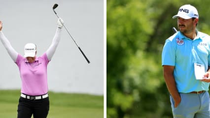Brittany Lincicome schlägt ein Eagle auf der PGA Tour und Stephan Jäger muss im Finale eine Schippe drauflegen. (Foto: Getty)