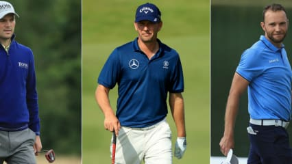 Martin Kaymer, Marcel Siem und Max Kieffer. Alle drei sind bei der Scottish Open auf der European Tour mit von der Partie. (Foto: Getty)