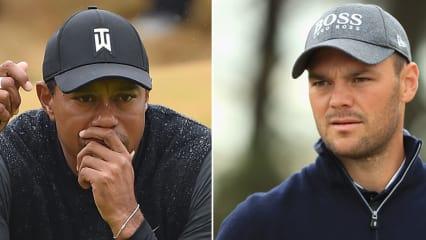 Martin Kaymer und Tiger Woods durchlebten die zweite Runde der Open Championship 2018 unterschiedlich. (Foto: Getty)