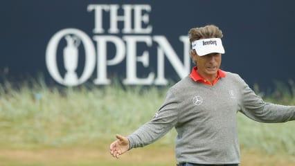 Bernhard Langer gibt sich vor der 147. Open Championship zuversichtlich. (Foto: Getty)