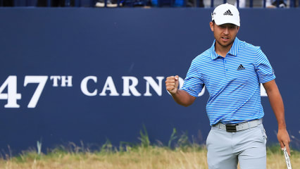 Xander Schauffele zeigte am Moving Day der British Open eine starke Leistung. (Foto: Getty)