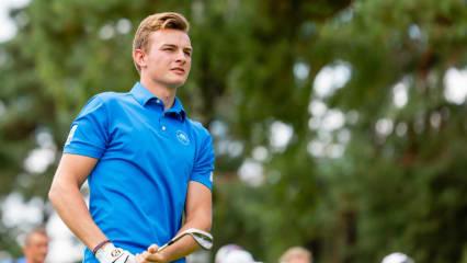 : Jannik de Bruyn gehört zu den Pfeilern des Erfolges beim GC Hösel. (Foto: DGV/Tiess)