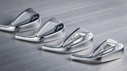 Mizuno Fans bekommen neue Eisen präsentiert. Optische Hingucker und technische Wunderwerke verstecken sich hinter den Mizuno JPX 919 Eisen. (Foto: Mizuno)