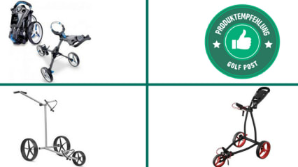Die besten Push-Trolleys 2018 im Angebot. (Foto: Motocaddy/Big Max/Kiffe)