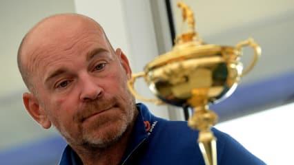 Wen Thomas Björn zum Ryder Cup 2018 nach Paris mitnimmt, verkündet er am Mittwoch. (Foto: Getty)