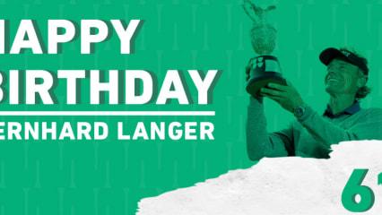 Herzlichen Glückwunsch, Bernhard Langer. (Foto: Golf Post)