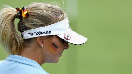 Olivia Cowen verpasst mit Karolin Lampert das Halbfinale der European Championships im Golf. (Foto: Getty)