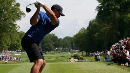 Wie viel Power ist für den Golfschwung entscheidend? (Foto: Getty)