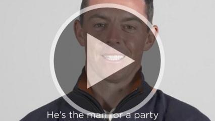 Rory McIlroy klärt die Fans darüber auf, wer der beste
