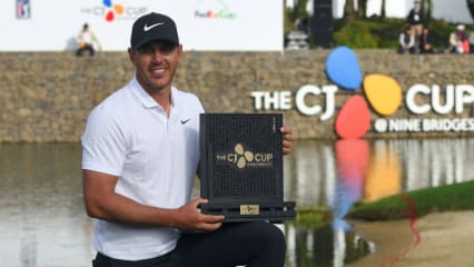 Brooks Koepka triumphiert beim CJ Cup 2018 der PGA Tour. (Foto: Getty)