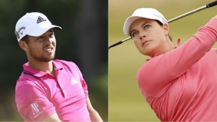 Xander Schauffele und Caroline Masson gehören zu den Nominierten für die PGA Awards 2018. (Foto: Golfsupport)