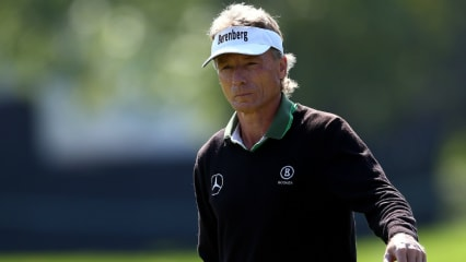 Kurz vor seinem nächsten Gesamtsieg auf der PGA Tour Champions: Bernhard Langer. (Foto: Getty)