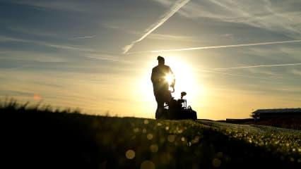 Greenkeeper haben auch im Herbst und Winter viel zu tun. (Foto: Getty)