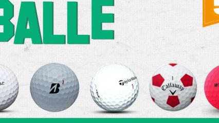 Golfball der Saison 2018 - Unsere runde Top 5