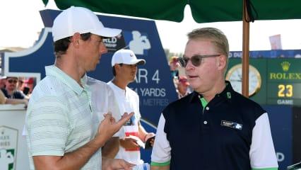 """European Tour: Pelley führt """"Krisengespräch"""" mit Rory, McIlroy rudert zurück"""