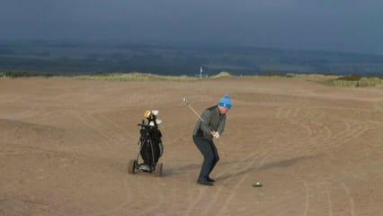 Schottland: Sturm verwandelt 450 Jahre alten Links-Course in Sandwüste