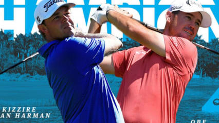 PGA Tour: Patton Kizzire und Brian Harman siegen bei Teamevent