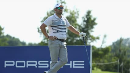 Allen John bei der Porsche European Open 2018. (Foto: Getty)