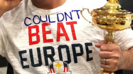 """Konntet Europa nicht schlagen"": Ian Poulter ""disst"" US-Ryder-Cup-Team"