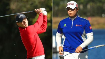 Ariya Jutanugarn (re.) ist die Bestverdienerin auf der LPGA Tour, verdiente aber im Verhältnis zu Martin Kaymer unverhältnismäßig gering. (Foto: Getty)