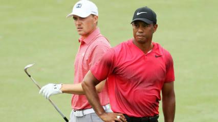 Tiger Woods (re.) und Jordan Spieth (li.) gehören zweifelsohne zu den Bestverdienern auf der PGA Tour. (Foto: Getty)