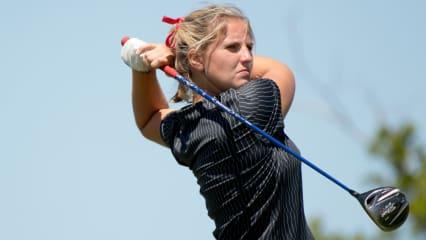 Leonie Harm im Feld der Augusta National Women's Amateur Championship