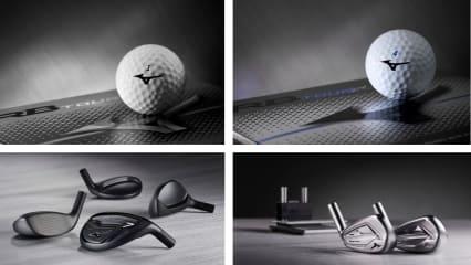 Mizuno erweitert Angebot im Eisen-, Hybrid- und Golfballsektor