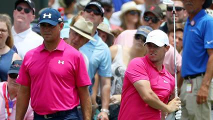 Gary Woodland bleibt auf der PGA Tour drei Schläge vor Rory McIlroy. (Foto: Getty)