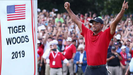 Tiger Woods ist zurück: Über seinen großen Sieg, putten mit Fahne und vieles mehr