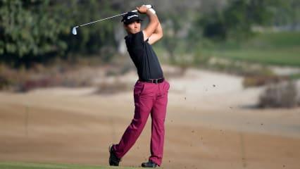 Dominic Foos zeigt starke Leistung auf der European Tour in Abu Dhabi. (Foto: Getty)