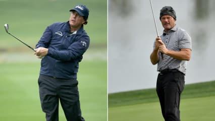 Phil Mickelson schießt sich mit einer Traumrunde in Führung und Alex Cejka beginnt ebenfalls stark auf der PGA Tour. (Foto: Getty)