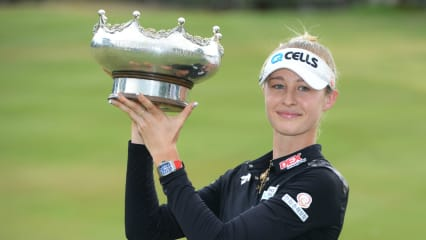Nelly Korda gewinnt die Women's Australian Open der LPGA Tour. (Foto: Getty)
