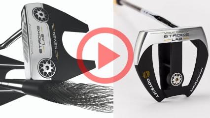 Die neuen Odyssey Stroke Lab Putter im Golf Post Test. (Foto: Golf Post)