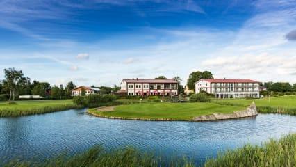 Der Golfpark Strelasund lädt zum kulinarischen Genuss und Golfen ein. (Foto: Helma Scheffler)