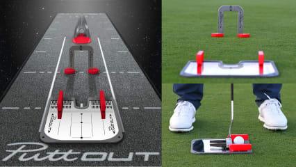 Die neuen Trainingstools von PuttOut heben Ihr Putttraining auf das nächste Level. (Foto: PuttOut)