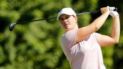 Caroline Masson mit gutem Ausblick für das Wochenende auf der LPGA Tour. (Foto: Getty)